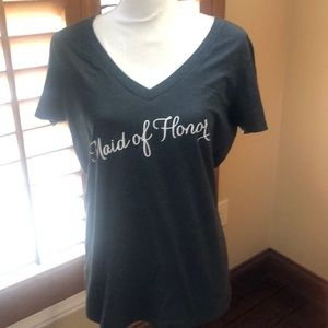 Next Level Apparel Maid of Honor T-shirt size XL
